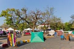 Mercado callejero que camina de Tapae Fotografía de archivo libre de regalías