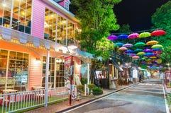 CHIANGMAI - 21 de septiembre: Alameda de la comunidad en Chiang Mai en Septem Fotos de archivo libres de regalías