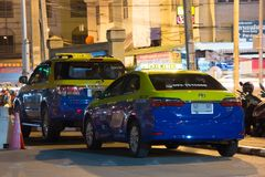 Chiangmai do táxi da cidade, serviço na cidade Foto de Stock Royalty Free
