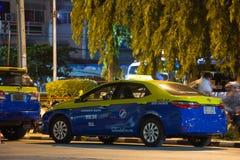 Chiangmai do táxi da cidade, serviço na cidade Imagem de Stock