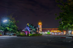 Chiangmai järnvägsstation Arkivfoton