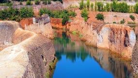 Chiangmai kanjon, härligt landskap arkivfoton