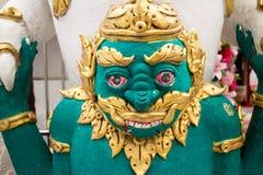 Gaint. Chiangmai main temple Royalty Free Stock Photography
