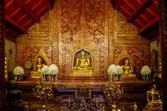 Prasing temple. Chiangmai main temple Royalty Free Stock Images