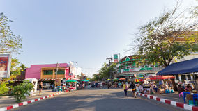 Tapae Street Market Royalty Free Stock Image