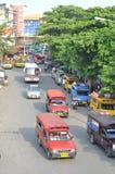 Chiangmai minibus Stock Photo