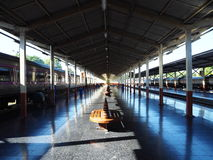 Chiangmai realway stationer Arkivbilder