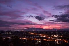 Chiangmai stad Arkivbild