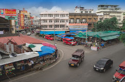 CHIANGMAI, TAILÂNDIA - 26 de julho de 2017: Mercado de Warorot, Chiang Mai, Tailândia Imagem de Stock