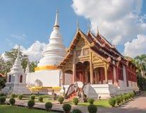 Chiangmai Tailândia de Wat Phra Singh fotos de stock