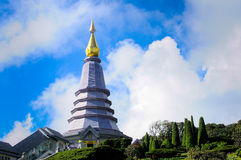 Chiangmai Tailândia do pagode de Naphapholphumisiri Fotografia de Stock