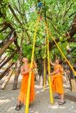 CHIANGMAI, TAILANDIA 15 DE ABRIL: Adoración en el festival de Songkran, A Fotografía de archivo libre de regalías