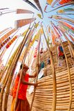 CHIANGMAI, TAILANDIA 14 DE ABRIL: El festival de Songkran es i celebrado Foto de archivo libre de regalías