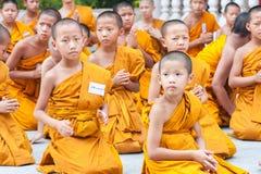 CHIANGMAI, TAILANDIA 15 DE ABRIL: El festival de Songkran es i celebrado Foto de archivo