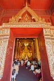 CHIANGMAI, TAILANDIA 15 DE ABRIL: El festival de Songkran es i celebrado Fotos de archivo