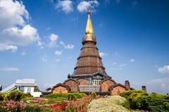 Chiangmai Tailandia de la pagoda de Naphamethanidon Imagen de archivo libre de regalías