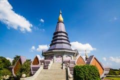 Chiangmai Tailandia de la pagoda de Naphapholphumisiri Foto de archivo libre de regalías