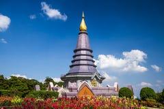Chiangmai Tailandia de la pagoda de Naphapholphumisiri Imágenes de archivo libres de regalías