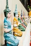 Chiangmai Tailandia de Muonngerngong del wat de la estatua del ángel Fotos de archivo libres de regalías