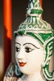 Chiangmai Tailandia de Muonngerngong del wat de la estatua del ángel Imagen de archivo