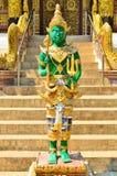 CHIANGMAI, TAILANDIA - 30 DE NOVIEMBRE: Edificio de Wat Chedi Ngam y Fotografía de archivo