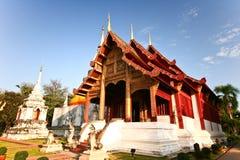 Chiangmai Tailandia del phrasingh de Wat Foto de archivo