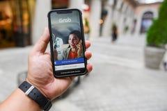 CHIANGMAI, TAILANDIA - ENERO 08,2018: Iphone a estrenar X de Apple con fotos de archivo