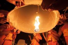 CHIANGMAI, TAILANDIA 10 NOVEMBRE - 2009: Fotografia Stock Libera da Diritti