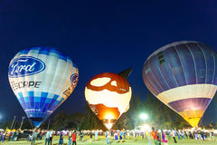 CHIANGMAI, TAJLANDIA, MARZEC 4 2016: Tajlandia zawody międzynarodowi balon Obraz Stock