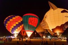 CHIANGMAI, TAJLANDIA, MARZEC 4 2016: Tajlandia zawody międzynarodowi balon Obrazy Royalty Free