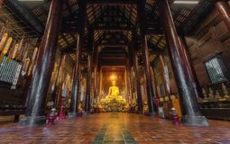 Chiangmai-Tempel stockbild