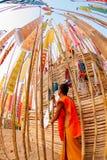 CHIANGMAI, THAÏLANDE 14 AVRIL : Le festival de Songkran est I célébré Images stock