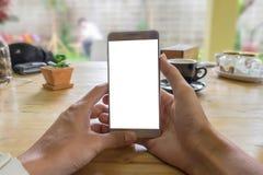 CHIANGMAI, THAÏLANDE - JUILLET 24,2016 : Samsung notent 5 le Twitter ouvert a Photo stock