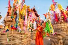 CHIANGMAI THAILAND-APRIL 14: Den Songkran festivalen är firat I Royaltyfri Foto