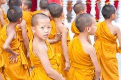 CHIANGMAI, THAILAND-APRIL 15 : Songkran Festival is celebrated i Royalty Free Stock Photo