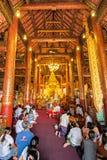 CHIANGMAI, THAILAND-APRIL 15 : Songkran Festival is celebrated i Stock Photos
