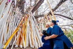 CHIANGMAI, THAILAND-APRIL 15 : Worship in Songkran Festival , A Stock Photos