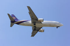 CHIANGMAI / THAILAND- FEBRUARY 5 2014 : HS-TDK Boeing 737-400 of Stock Photography
