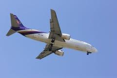 CHIANGMAI / THAILAND- FEBRUARY 5 2014 : HS-TDK Boeing 737-400 of Royalty Free Stock Photo