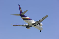 CHIANGMAI / THAILAND- FEBRUARY 5 2014 : HS-TDK Boeing 737-400 of Royalty Free Stock Image