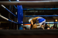 CHIANGMAI, THAILAND - JULY 30: Unidentified Muay Thai fighters c Stock Image