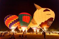 CHIANGMAI, THAILAND, 4 MAART 2016: De internationale ballon van Thailand Royalty-vrije Stock Afbeeldingen