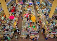 CHIANGMAI, THAILAND - 10. Mai 2017 ist Warorot-Markt, am Ort genannt Kad Luang, der Chiang Mai-` s größten Marktes Der Platz t Lizenzfreies Stockfoto