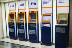 CHIANGMAI, THAILAND-MAY 3,2019: ATM do banco de Banguecoque foto de stock