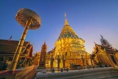 Doi Suthep temple - Chiangmai - Thailand Stock Photos