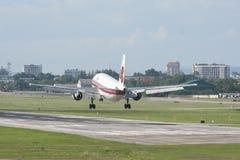 HS-TAW Airbus A300-600R of Thaiairway. Royalty Free Stock Image