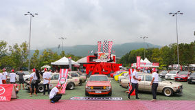 CHIANGMAI-THAILAND;on SEP 20-21 ,2014,TOYOTA  Stock Images
