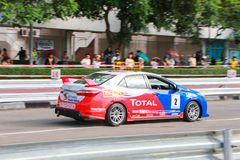 CHIANGMAI-THAILAND;on SEP 20-21 ,2014,TOYOTA  Royalty Free Stock Images
