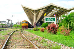 Chiangmai train station Royalty Free Stock Photos