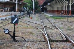Chiangmai train station Royalty Free Stock Photos